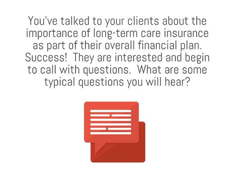 Top Ten Asked Questions About Long-Term Care Insurance