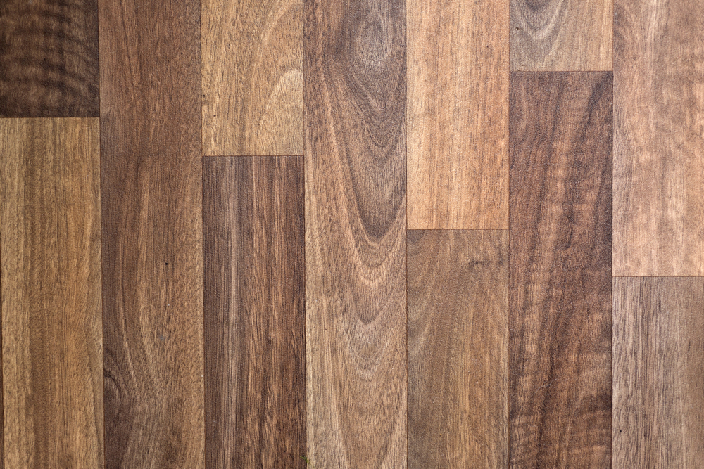 Wooden floor panels in a row as a background